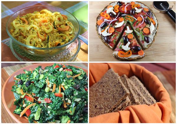 raw-vegan-recipes-collage