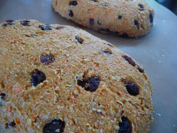 sprouted-grain-bread-carrot-raisin