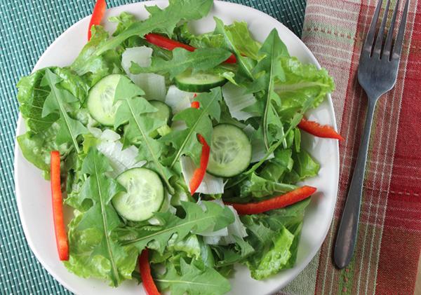 dandelion-greens-salad