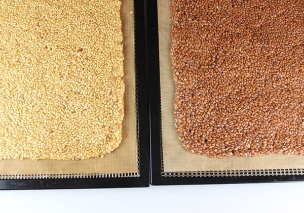 flaxseed-crackers-dehydration-tray