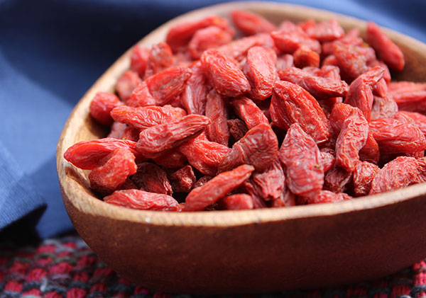 goji berries, a tonic herb and superfruit variety, Beautiful flower