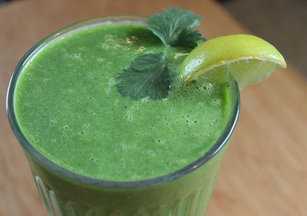 green-smoothie-recipes-cilantro-lime-smoothie-recipe