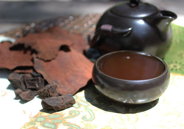 how to prepare he shou wu tea