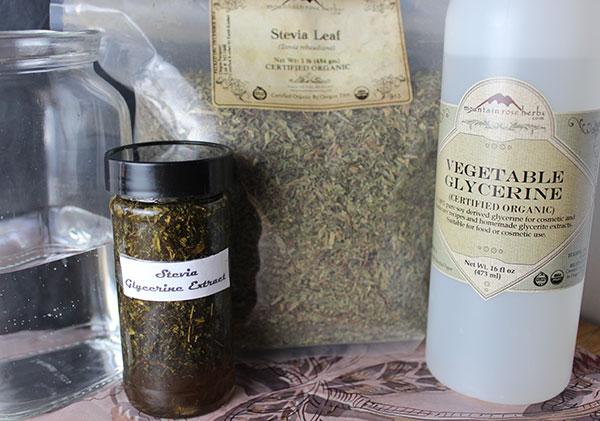 how-to-make-stevia-extract-using-glycerine