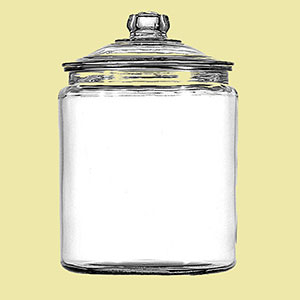 miso glass jar
