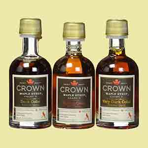 maple-syrup-crown-maple-trio-samples