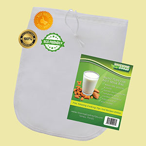nut milk bag eco friendly