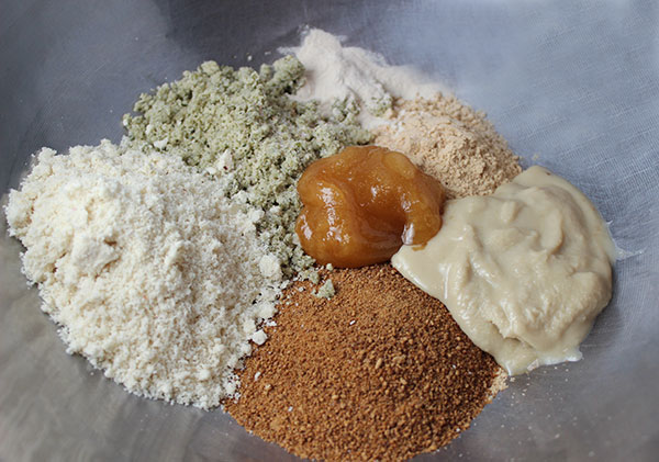 raw-peanut-butter-cookies-ingredients
