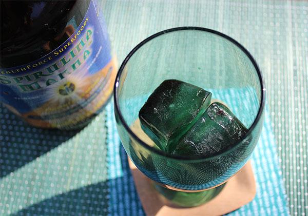 spirulina-ice-cubes-for-mojito-recipe