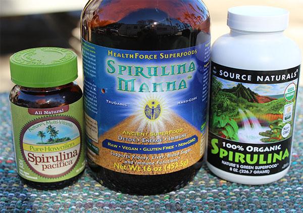 spirulina-products