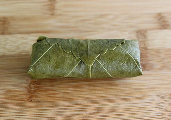 stuffed-grape-leaf-rolled