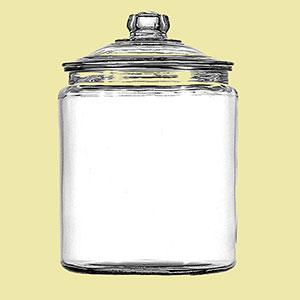 miso glass jar